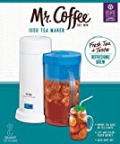 Mr. Coffee 2-Quart Iced Tea Maker, Blue