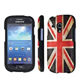 NakedShield Samsung Galaxy Mini S3 SIII Mini (Flag United Kingdom) Total Hard Armor Art Phone Case