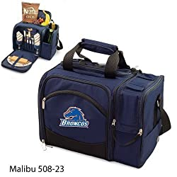 Boise State Broncos Malibu Insulated Picnic Shoulder Pack/Bag - Navy w/Embroidery