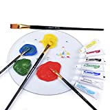 PROFESSIONAL ARTIST PAINT BRUSH SETS - Wide Variety 15 Piece Paintbrush Kits For Acrylic, Oil, Watercolor and Face Painting - Canvas Quality Art Supplies Kit for Artists & Kids - MONEY BACK GUARANTEE