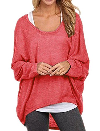 iqin-womens-sexy-casual-autumn-oversized-baggy-off-shoulder-long-sleeve-tops-blouse-t-shirt-red-smal