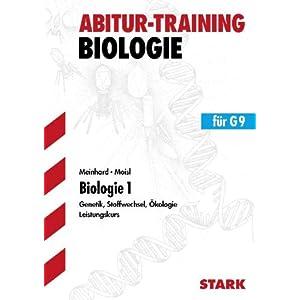 eBook Cover für  Biologie 1 f xFC r G9 Leistungskurs Genetik Stoffwechsel kologie Abitur Training Biologie Grundlagen und Aufgaben mit L xF6 sungen