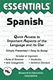 img - for The Essentials of Spanish (REA's Language Series) (English and Spanish Edition) by Mouat, Ricardo Gutierrez, Spanish Study Guides (1994) Paperback book / textbook / text book