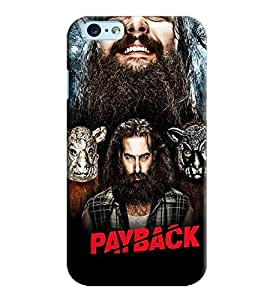 Blue Throat Payback Star Cast Printed Designer Back Cover For Apple iPhone 6s