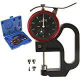 """iGaging Thickness Gauge Dial Indicator w/6 Anvils 0-1""""/0.0005"""""""