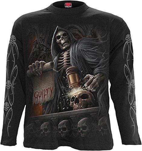 Spiral-Pantaloni Judge Reaper-Maglietta maniche lunghe nero Black M