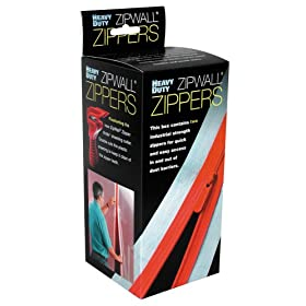 ZipWall HDAZ2 Heavy Duty Zipper Kit, 2-Pack