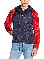 Trussardi Jeans Chaqueta (Azul / Rojo)