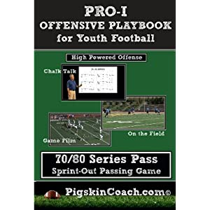 PRO-I Offensive Playbook for Youth Football - 70/80 Series Pass movie