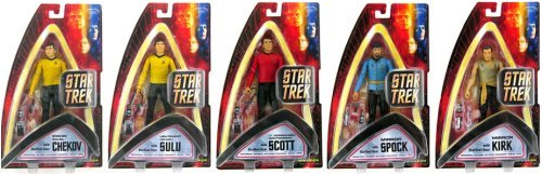 Buy Low Price Art Asylum Star Trek 7″ Classic Series 2 (5) Action Figure Set from Art Asylum (B000LB5REC)