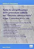 Tutte le semplificazioni�delle procedure edilizie nel �Decreto sblocca Italia�