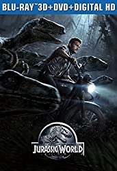 Jurassic World 3D - Limited Edition Packaging (Blu-ray 3D + Blu-ray + DVD + Digital HD)
