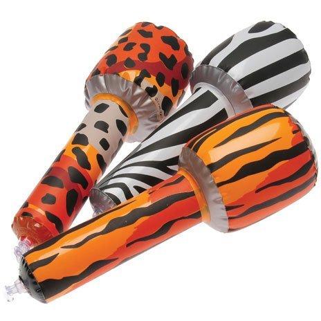 Mini Safari Microphone Inflates Inflatables (12 Per Package)
