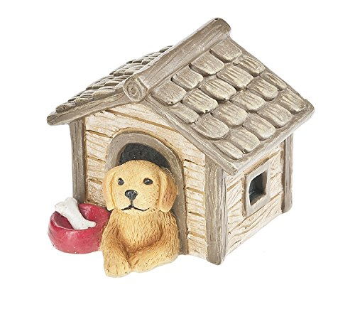 Ganz Miniature/Fairy Garden Dog with Doghouse Figurine (Miniature Dog House compare prices)
