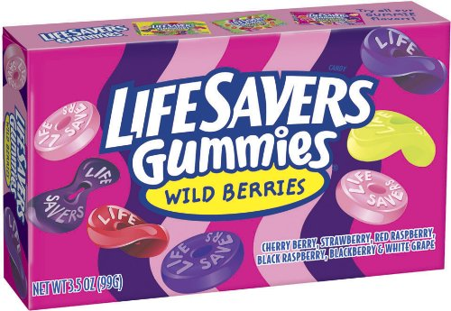 LifeSavers Gummies Wild Berries 3 5-Ounce Boxes Pack of 12B001D3LUKW