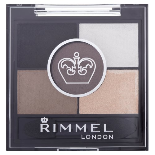 Rimmel Glam'Eyes, Palette make up da 5 ombretti, Foggy Grey