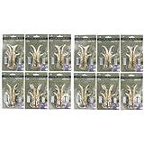 """12 Pack Bundle - 3"""" Right & Left Antler Drawer / Cabinet Pull - Deer Hunting Cabin Decor"""