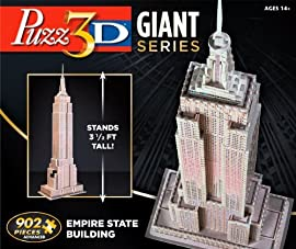 Giant Puzz 3D Empire State Building