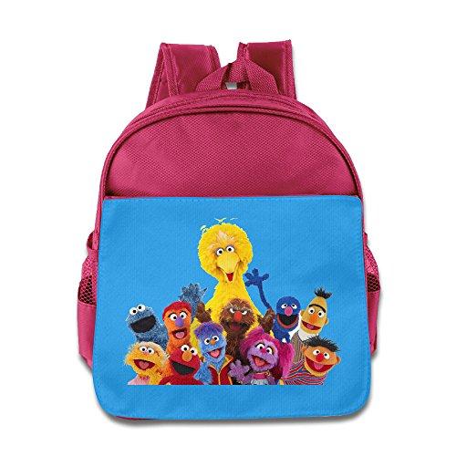 [Kids' Sesame Street Logo Shoulders Bag] (Ernie From Sesame Street Costume)