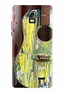 Noise Designer Printed Case / Cover for Lyf Water 10 / Patterns & Ethnic / Guitar Design