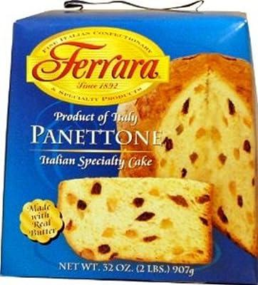 Ferrara Italian Specialty Panettone Cake from Ferrara