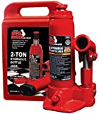 Torin T90213 Hydraulic Bottle Jack with Blow Carrying Case - 2 Ton