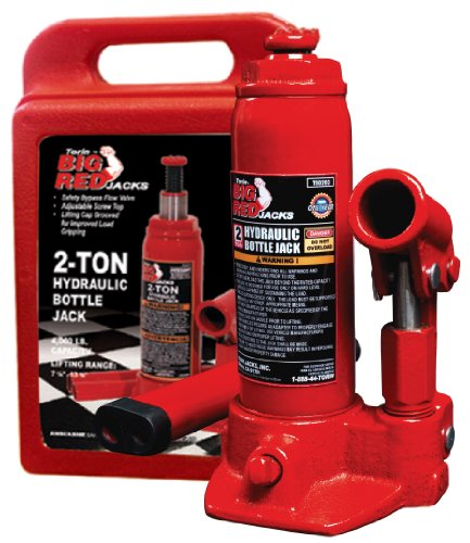 Torin T90213 Hydraulic Bottle Jack With Blow Carrying Case - 2 Ton front-154330