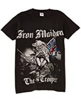 Rock Off - T-shirt Homme - Iron Maiden Sketched Trooper