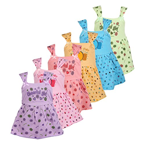 WEECARE PICO PATTI FROCK (PACK OF 6)