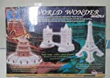 Brick & Brain World Wonder Series Eiffel Tower