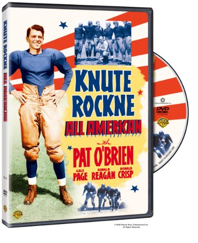 Cover art for  Knute Rockne All American