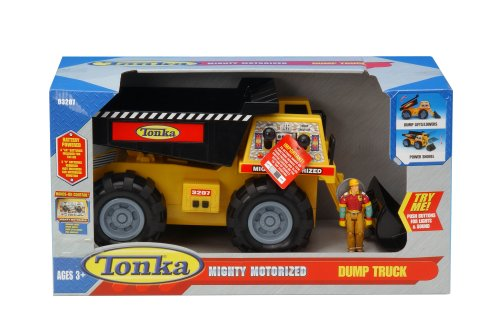 Buy Tonka Mighty Motorized Dump Truck with Figure
