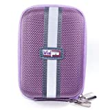 Vidpro ACT5PU Purple Camera Case with Belt Loop & Shoulder Strap - Small