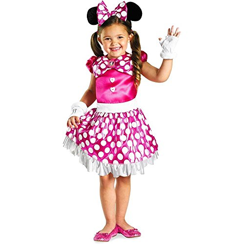 Pink Minnie Mouse Shimmer Kids Costume