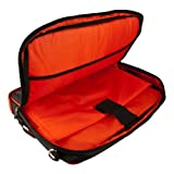 VanGoddy Pindar Professional Deluxe Business Office Nylon Messenger Case with Padded Shoulder Strap For LG Optimus Pad LTE Wifi Tablet Android Tab Device + Supertooth Disco Bluetooth Speaker with AUX Cable
