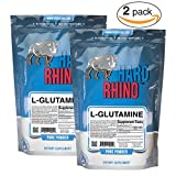 Hard Rhino L-Glutamine Powder, 1000 Grams