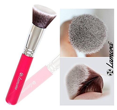 Foundation Makeup Brush Flat Top Kabuki for Face - Perfect For Blending Liquid, Cream or Flawless Powder Cosmetics - Buffing, Stippling, Concealer - Premium Quality Synthetic Dense Bristles (Mac 249 Brush compare prices)
