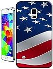 Sangu the American Flag Flutter Hard TPU Samsung Galaxy S5 Case