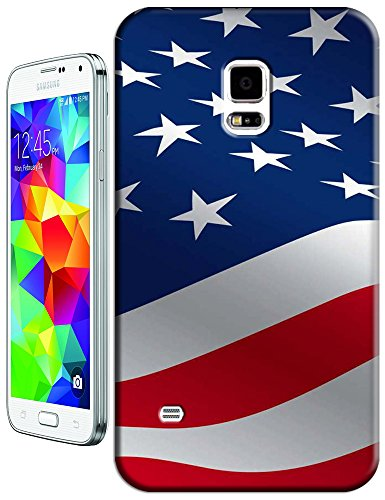 Sangu The American Flag Flutter Hard Tpu Samsung Galaxy S5 Case front-47787