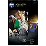 Hp Advance Glossy Paper 4x 6 100 Sht 100 Sheets of 4 X 6 Borderless Glossy Advan