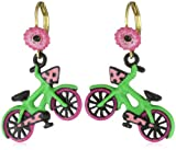 51FklpNObmL. SL160  Bicycle Earrings