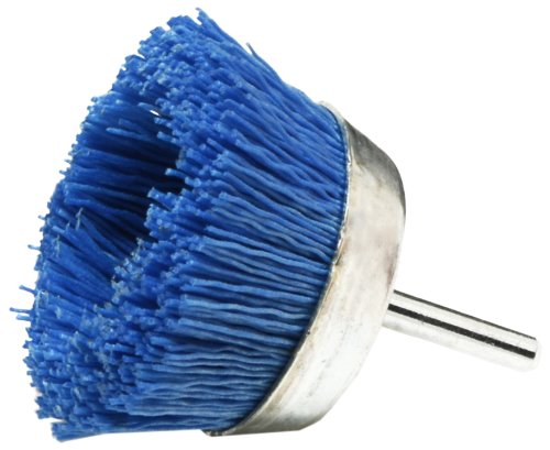 Dico 541-786-21/2 Nyalox Cup Brush 21/2-Inch Blue 240 Grit image