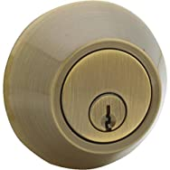 Steel Pro Double Cylinder Deadbolt-AB CP 2CYL DEADBOLT