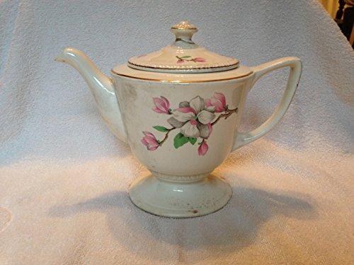 Old Vintage Homer Laughlin China Tea Set Pitcher Gold Trim