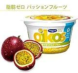 ダノンジャパン 冷蔵 12個 オイコス 脂肪0 パッションフルーツ 110g