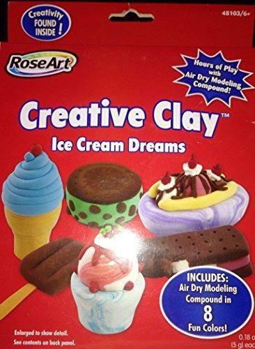 RoseArt Creative Clay Ice Cream Dreams