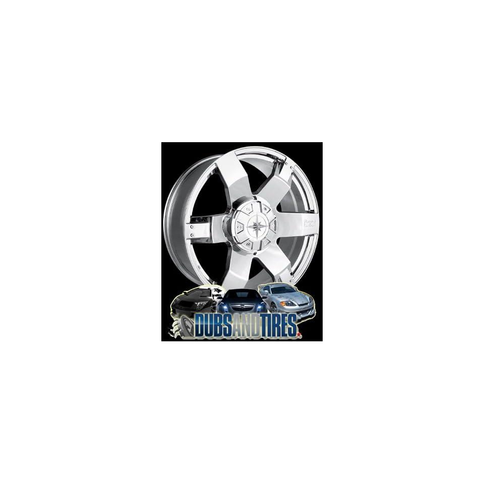 20 Inch 20x9 Ion Alloy wheels STYLE 185 Chrome wheels rims