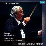 ムソルグスキー (ラヴェル編) : 組曲 「展覧会の絵」 | ブラームス : 交響曲 第4番 (Brahms : Symphonie Nr.4 | Mussorgsky : Pictures at an Exhibition / Celibidache | Munchner Philharmoniker) [1986 Tokyo Live] [2LP] [Limited Edition] [Analog]
