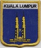 Kuala Lumpur Malaysia Flag Embroidered Patch Badge