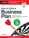 How to Write a Business Plan (4th Ed)